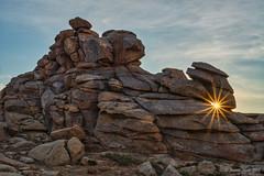 Hole in the rock (NettyA) Tags: asia bagagazariinchuluu bagagazarinchuluu bagagazarynchuluu mongolia geology granite landscape rocks sunrise sunburst