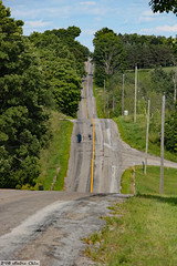 Rolling rural road (Can Pac Swire) Tags: ontario canada canadian rural countryside road rolling hill green tree summer farm woods 2018aimg1450 1366 coatesroad west portperry