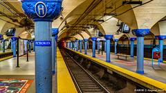 Hoboken, NJ: PATH Hoboken station (nabobswims) Tags: highdynamicrange hoboken ilce6000 lightroom metro mirrorless nj nabob nabobswims path photomatix portauthoritytranshudson rapidtransit sel18105g sonya6000 station subway ubahn newjersey unitedstates mta metropolitantransitauthority
