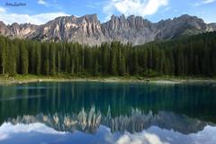 Lago di Carezza (Ruben Di Liberto) Tags: canon 6d 24mm f14 l trentino alto adige italia lago di carezza bolzano dolomiti latemar alpi sudtirol