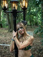 Castlefest 2018 Elf Girl (FishOnChips) Tags: castlefest cosplay lisse netherlands olympus steampunk beauty