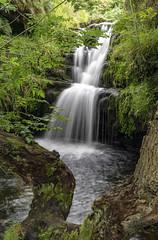 Waterfall (l4ts) Tags: landscape derbyshire peakdistrict darkpeak kinderscout edale crowdenclough crowdenbrook waterfall longexposure jobygorillapod