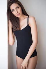 Barbara (LCKP) Tags: model beauty sexy lingerie underwear stockings bra panties