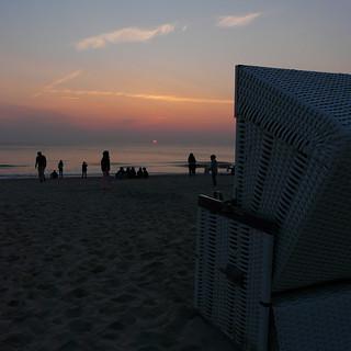 Sylt, Sonnenuntergang