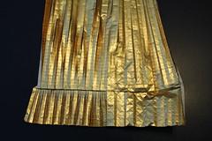Ryujin 2.1 WIP (Tankoda) Tags: origami paper art ryujin sky dragon satoshi kamiya travis wip precreasing pre creasing japan nolan foil ousa gold white intense tankoda lines work progress scale transitions pleating pleats box