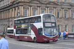 LB 819 @ North Bridge, Edinburgh (ianjpoole) Tags: lothian buses volvo b7tl wright eclipse gemini sn56ahd 819 north bridge edinburgh
