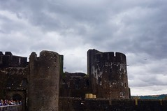 Carphilly Castle (Laocoonte) Tags: caerphilly castello castle galles nex3n sony uk wales
