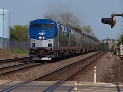 180508_13_AMTK24_3Westmont (AgentADQ) Tags: westmont illinois chicago bnsf raceway train trains metra station