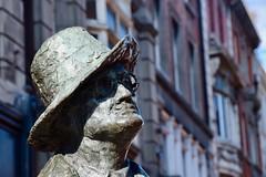 James Joyce (jpdu12) Tags: jamesjoyce poete romancier jeanpierrebérubé jpdu12 nikon d5300 dublin irlande eire ireland