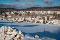 Wann wirds mal wieder richtig Winter? (DerHarlekin) Tags: winter wonderland blue sky snow ice germany europe village stuttgart württemberg baden