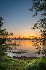 Pure sunrise (multifaceted_m) Tags: sunrise dawn landscape lake water sun colorful earlymorning belarus