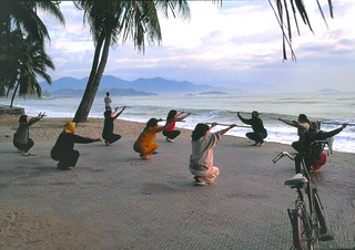 viet_centre_098 : gymnastique matinale @ Nha Trang (ma ville natale), Vietnam