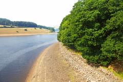 Ladybower Reservoir    August 2018 (dave_attrill) Tags: ladybower reservoir derwent lowwater august 2018 peakdistrict derbyshire bamford
