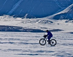 Hurry Fjord, Northeast Greenland, image P Poole