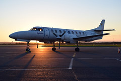 SA226 - Metro II (solapi) Tags: clouds sw4 fairchild flightline metroliner metroii girona airport lege sa226 plane
