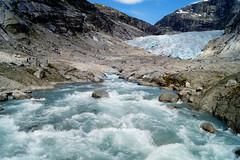 Glacier hiking at Nigardsbreen (Norway) (cherac) Tags: norwegen gletscher nigardsbreen glacier hiking