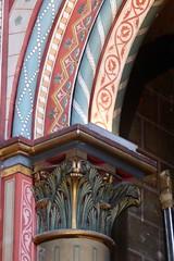 Church of Saint-Germain-des-Prés (carolyngifford) Tags: saintgermaindesprés church eglise paris column decorated arch