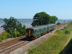 150232 Powderham (Marky7890) Tags: gwr 150232 class150 sprinter 2f13 powderham railway starcross devon rivieraline train