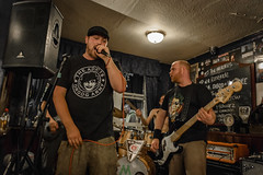 The Mistakes, The Lord Nelson, Poole 07-08-2018 21 (Matt_Rayner) Tags: live punk thelordnelsonpoole concert themistakes richieblandford bass rosssutcliffe vocals lewiswilloughby drummer