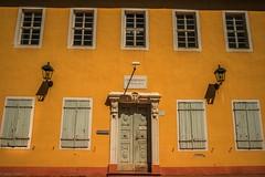 Door and Windows... (hobbit68) Tags: fenster tür door windows laterne gelb gebäude haus