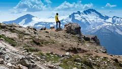 Mountain View (Sworldguy) Tags: mountains whistler sky summer mountainous rocky alpine landscape snowcapped sonya73 britishcolumbia bc canada bluesky