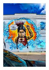 Mural 9 - Eastern Market (Will-Jensen-2020) Tags: wall graffiti easternmarket usa michigan detroit market eastern mural art building reflection