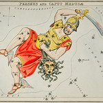 Sidney Hall's (1831) astronomical chart illustration of the Perseus and the Caput Medusae. Original from Library of Congress. Digitally enhanced by rawpixel. thumbnail