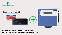 Want to Converter Normal Inverter to Solar Inverter (LoomSolar.com) Tags: luminous solar charge controller price conversion kit mppt manual