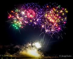 Multi-coloured explosion (JKmedia) Tags: boultonphotography nationalfireworkschampionships 2018 aug plymouth devon uk hoe firework colourful night pyrotechnics explosion display