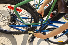 RRC_Sustainability_July 2018-039 (RedRiverCollege) Tags: rrc redrivercollege notredamecampus ndc sustainability electriccar compost bike
