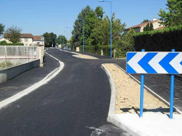 Travaux d'aménagement Rue de Lacarrerotte
