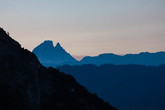 Pyrénées, le pic du Midi d'Ossau vu de la vallée d'Aspe (jpazam) Tags: anie labérouat ossau pyrénées aspe lescun