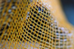 Breathable.... (janrs7) Tags: macromondays mesh breathable sack firewood tamron70300mmmacro texture net macro closeup dof manuelfocus handheld