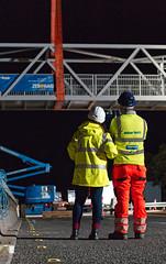 A9 Footbridge - Happy Client (captures.in.time) Tags: steel civil civilengineering roadworks footbridge bear trunkroad motorway road a9 scotland bridge