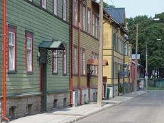 Tallinn - Kalamaja neighborhood (fb81) Tags: estonia tallinn old town historic center kalamaja neighborhood wooden colorful house door