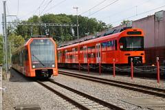2018-08-07, RBS/STAG, Worblaufen (Fototak) Tags: schmalspurbahn treno train railway sbahn bern switzerland stadler next worbla rbs 26 01