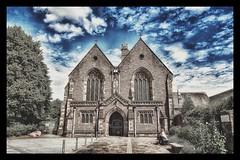 Priory Church of St Mary, Abergavenny (Develew) Tags: abergavenny yfenni monmouthshire wales priorychurch stmarys stmaryschurch