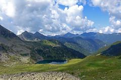 Lago delle Stellune (Tabboz) Tags: montagna lagorai porfido cima vetta sentiero escursione vianormale laghi cielo nuvole prati ruscello croce