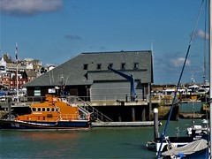 P1030216 (R C Pearce) Tags: broadstairs 2016 ramsgate harbour lifeboat lifeboatstation