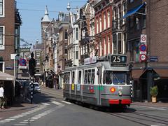 GVB 586 (jvr440) Tags: tram trolley strassenbahn gvb amsterdam bolkop ema elektrische museumtramlijn 2g 586