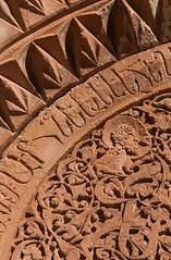 Monastère de Noravank, Arménie (Pascale Jaquet & Olivier Noaillon) Tags: sculpture décoration église architecturechrétienne religionchristianisme basrelief areni provincedevayotsdzor arménie arm