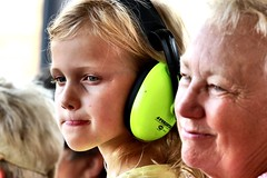 Grandmother and granddaughter (Laurence's Pictures) Tags: boone county fair belvidere illinois state show animal politican tractor 2018 demolision demolition derby cars race auto automobile america crash junk racing nascar em up