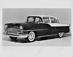 1955 Packard Clipper DeLuxe 4-Door Sedan (aldenjewell) Tags: 1955 packard clipper deluxe 4door sedan press photo