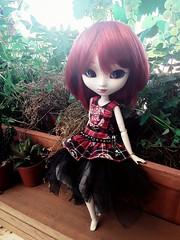 Marjory Seven (Lunalila1) Tags: doll groove junplaning handmade outfit punk nunoya fabric japan costura 16 scale pullip kirsche marjory seven