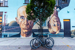 We used to see eye to eye (sniggie) Tags: route62 usroute62 us62 mural americangothic columbus ohio jenis shortnorthartsdistrict jenissplendidicecreams