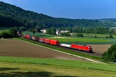 187 102 Breitenfurt (0258n) (christophschneider1) Tags: kbs990 breitenfurt altmühltal oberbayern deutschebahn dbcargo bombardier traxx 187 187102 gemischtergüterzug d850