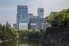 Ote-bori (atsubor) Tags: tokyo japan 東京 日本 skyscraper canals