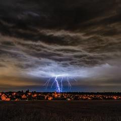 Event Horizon (MSPhotography-Art) Tags: tübingen badenwürttemberg deutschland de gewitter lightning thunderstorm weather wetter unwetter sturm