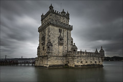 Torre Belem (Jose Cantorna) Tags: belem tower torre fortaleza nikon d610 agua nubes cielo sky lisboa portugal
