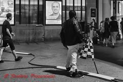 Freiburger (New Yorker) (Stefano Procenzano) Tags: fribourg fr svizzera ch nikon nikond750 nikkor garedefribourg 50mm 50mmf18 f18 blackandwhite noiretblanc biancoenero nb bw people 50mmf18afs monochrome reportage d750